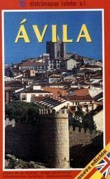 AVILA MAP IN SPANISH AND ENGLISH...