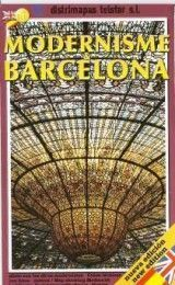 BARCELONA ART NOUVEAU MAP IN ENGLISH A...