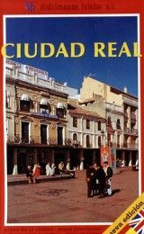 CIUDAD REAL MAP IN SPANISH AND ENGLISH