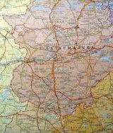 MAP OF SPAIN AND PORTUGAL – MINI...