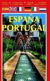 MAP OF SPAIN AND PORTUGAL IN SPANISH, ...