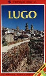 LUGO MAP IN SPANISH AND PORTUGUESE