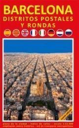 BARCELONA POSTAL DISTRICTS AND RING RO...