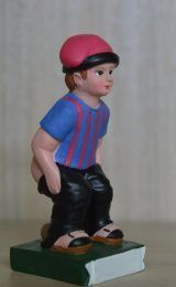 Caganer Figurine With Barça T-shirt...