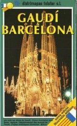 BARCELONA GAUDI MAP IN FRENCH AND CATA...