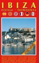 IBIZA – EIVISSA AND FORMENTERA MAP IN SPANISH, CATALAN, ENGLISH, FRENCH, GERMAN AND ITALIAN