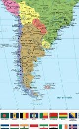 WORLD MAP IN SPANISH, CATALAN, GALICIAN AND BASQUE – PAPER WALL MAP