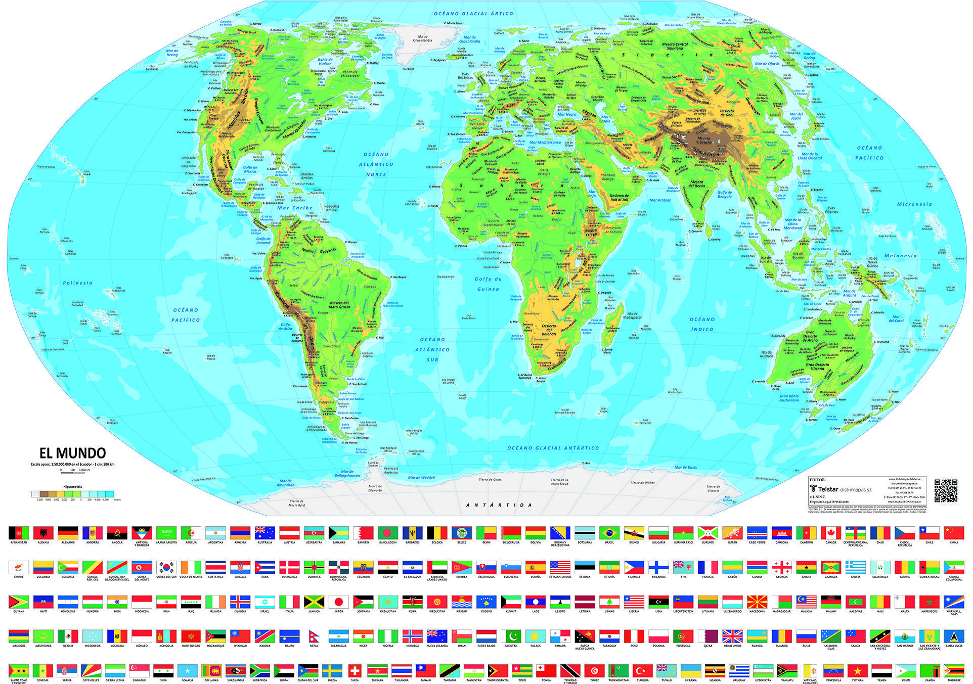 PHYSICAL WORLD MINI MAP – PAPER ...